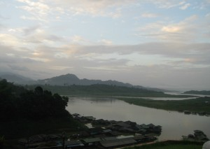 Early Morning in Sangklaburi