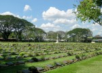 The War Cemetery at Kanchanaburi