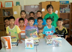 Trinh Hagedorn, School Children and New Books
