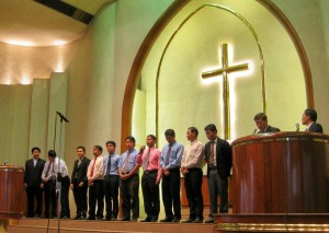 Young Missionaries from Sapan Luang Church